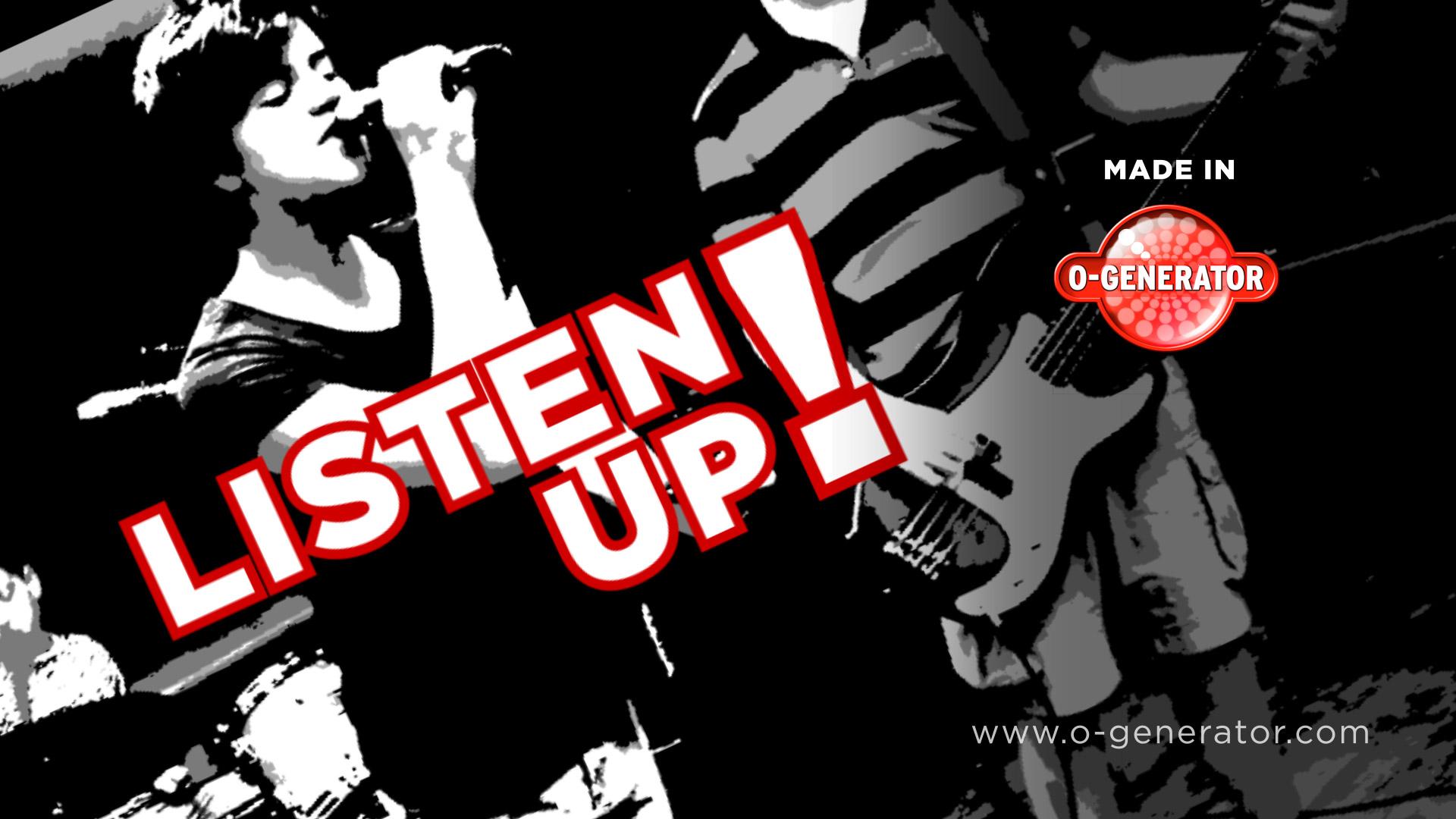 Listen Up - O-Generator